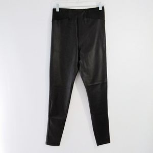 NWT Asos High Waisted Faux Leather Leggings Size 8
